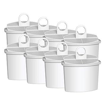 Vyair AQK-12 - Filtro de agua para máquina de café Braun Brita KWF2, Braun KF130, KF140, KF550, KF560 (8): Amazon.es: Hogar