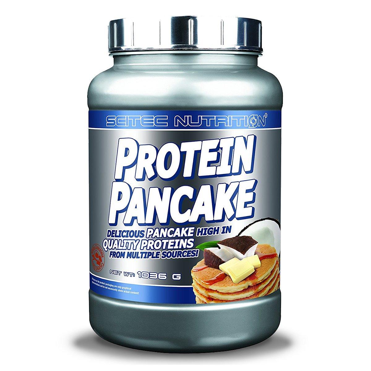Scitec Nutrition Protein Pancake Mix - 2.28 Pound, White Chocolate Coconut
