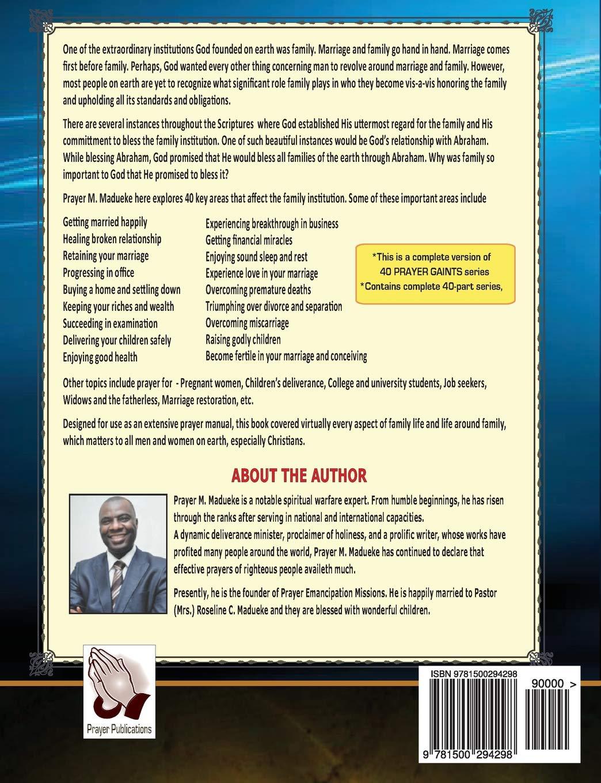 40 Prayer Giants: Prayer M  Madueke: 9781500294298: Amazon