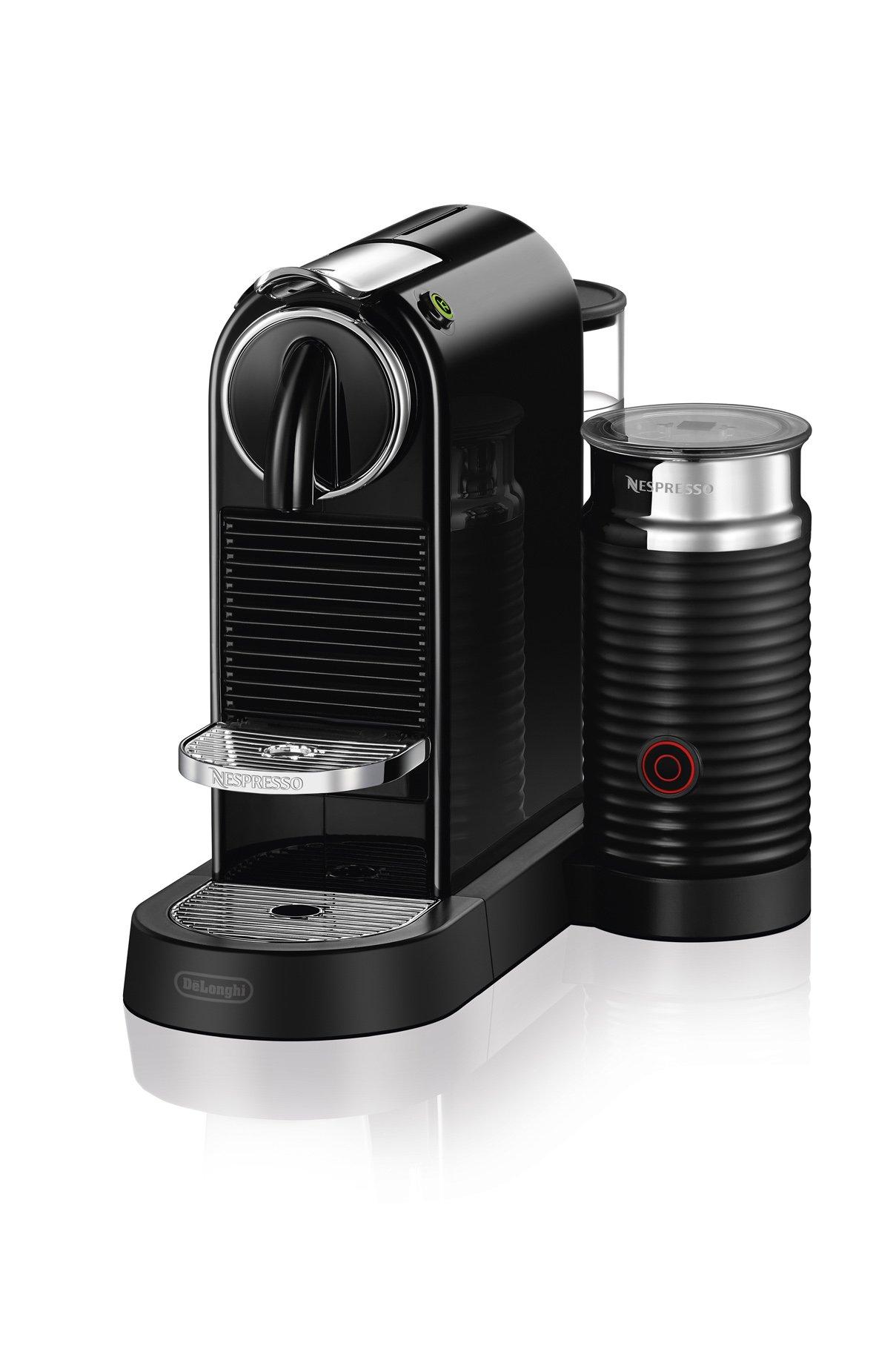 Nespresso by De'Longhi EN267BAE Original Espresso Machine Bundle with Aeroccino Milk Frother by De'Longhi, Black by Nespresso by De'Longhi