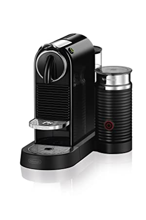 Nespresso CitiZ Milk Espresso Machine by De Longhi, Black