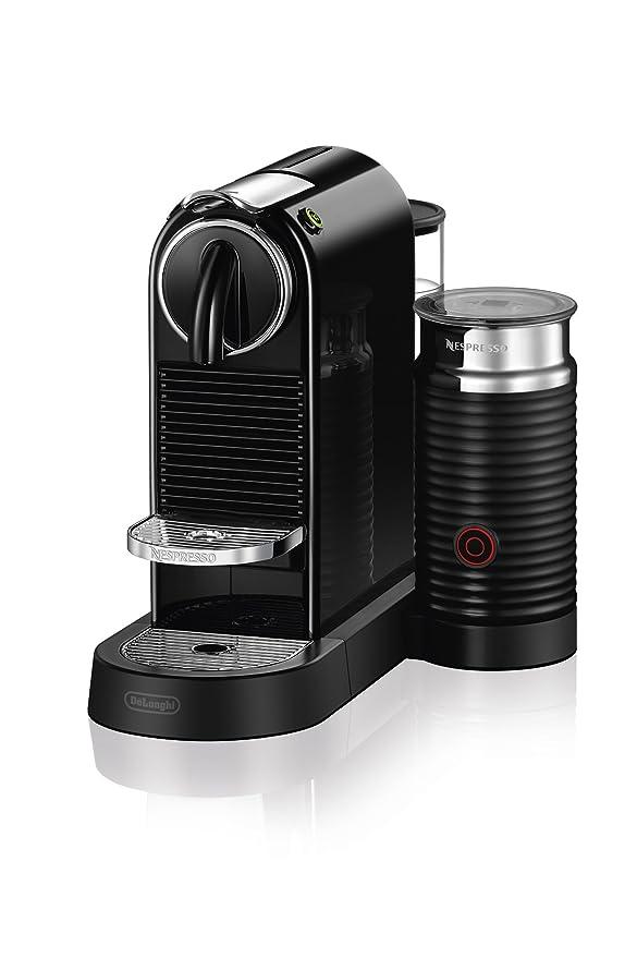 Nespresso CitiZ & Milk Espresso Machine de DeLonghi, color negro ...