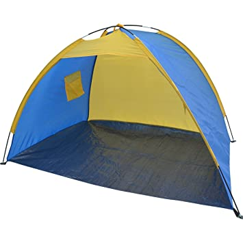STRONG CAMEL PORTABLE POP UP BEACH SHELTER SAND TENT SUN SHADE OUTDOOR-dark blue with  sc 1 st  Amazon.com & Amazon.com: STRONG CAMEL PORTABLE POP UP BEACH SHELTER SAND TENT ...