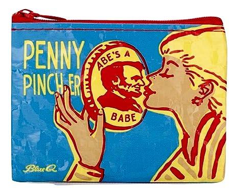 Amazon.com: Blue Q bolsas, cartera, Penny Pincher: Clothing