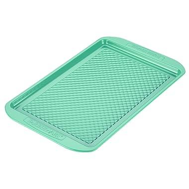 Farberware purECOok Hybrid Ceramic Nonstick Bakeware Baking Sheet & Cookie Pan, 10-Inch x 15-Inch, Aqua