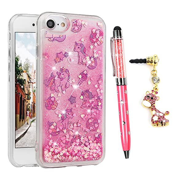 iphone 6 case glitter liquid