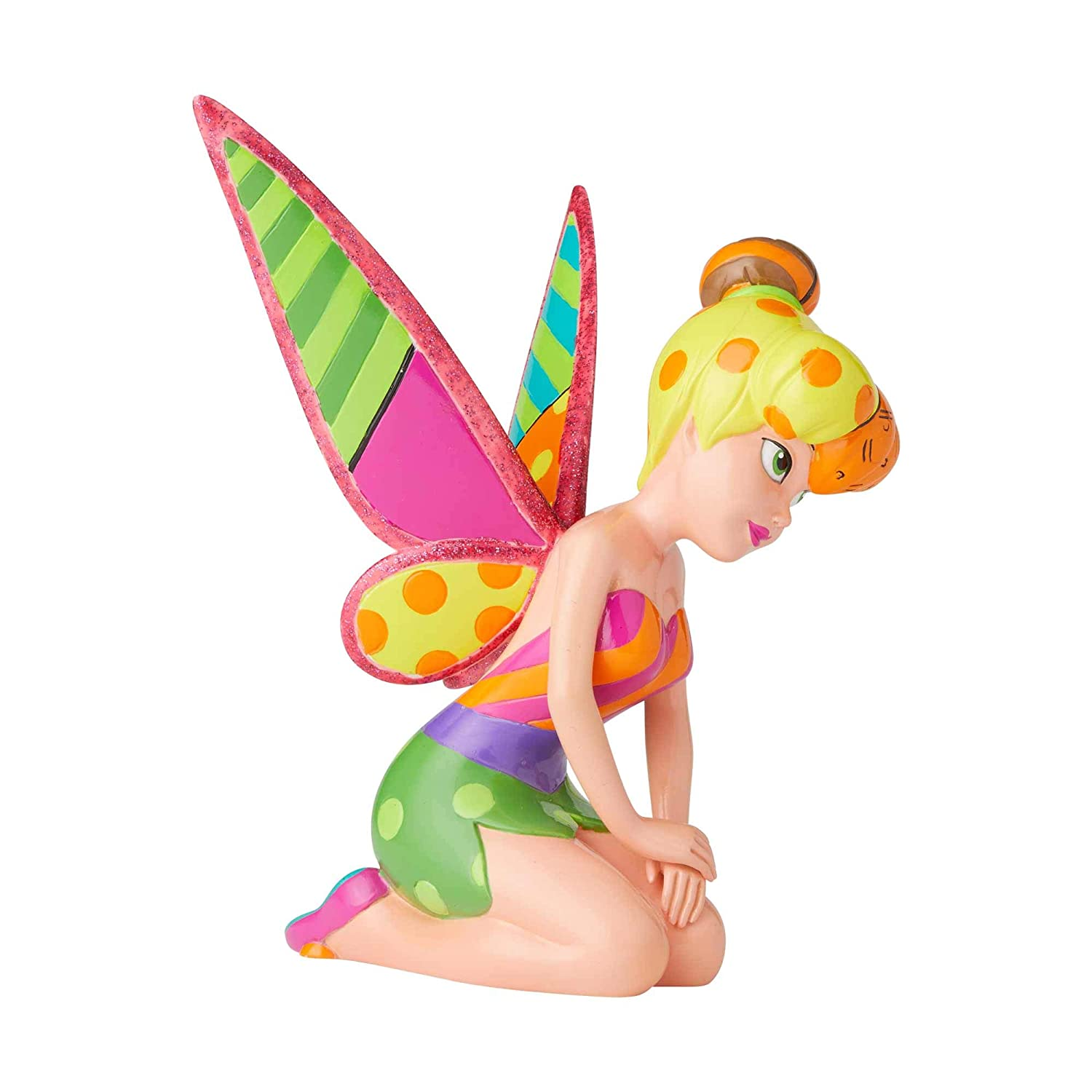 6 Multicolor Enesco Disney by Britto Peter Pan Tinker Bell Figurine