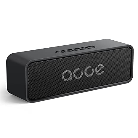 Review OJA Newest Bluetooth 5.0 Speaker,Portable Wireless Stereo Speaker,Strong Bass 10W Speakerphone with Built-in Mic,24-Hour Playtime,164-328ft,Great for Outdoor/Indoor,Support All Devices (Black)