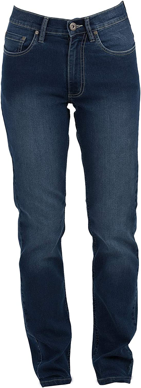 Pantalone da Lavoro Donna Jeans Elasticizzato Pantaloni Multi Tasche JRC El Paso CHEMAGLIETTE
