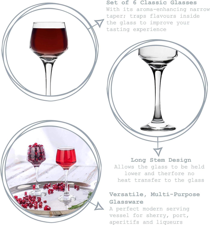 Chef/'s Larder 80 Plastique Verres à liqueur 2 CL