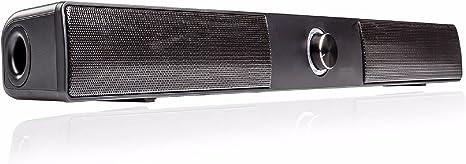 2.1 Mini Bluetooth Barra de Sonido para televisor/Mac/TFT TV Sistema de Altavoces 6 Cajas F. Samsung LG Toshiba Medion Loewe Negro Cine en casa HomeCinema Sistema de Sonido: Amazon.es: Electrónica