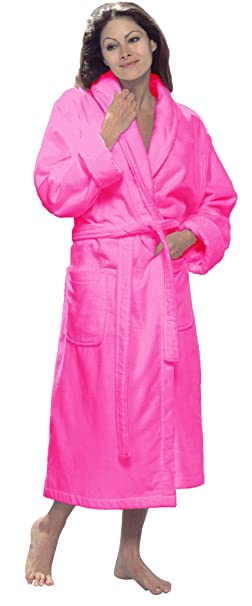 8b4ca69ba7 byLora Personalized Terry Cotton Robe for Men and Women  Amazon.ca   Clothing   Accessories