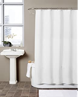 Amazoncom InterDesign York Waffle Weave Shower Curtain Mold