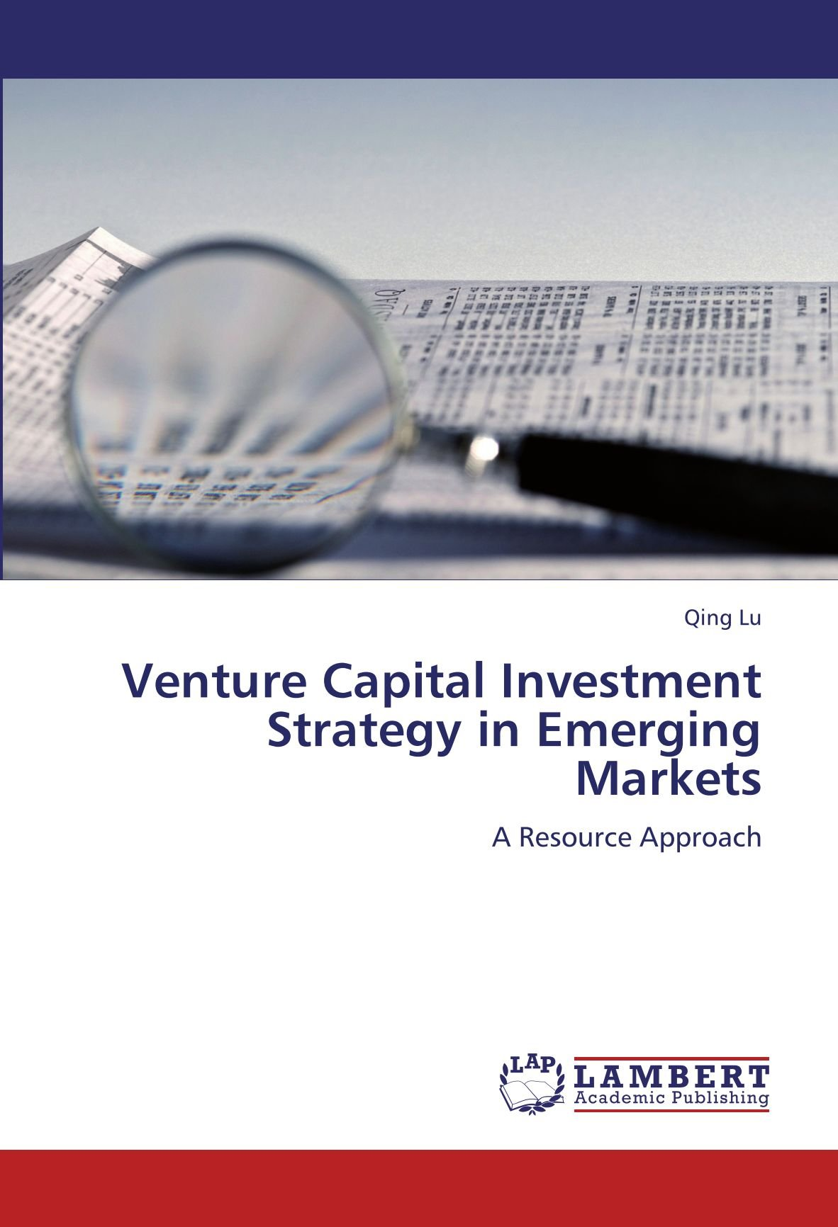 Venture Capital Investment Strategy in Emerging Markets: A Resource Approach