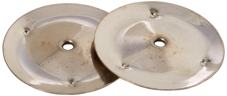 gitre, 38cm vernickelt Becken Paar S770