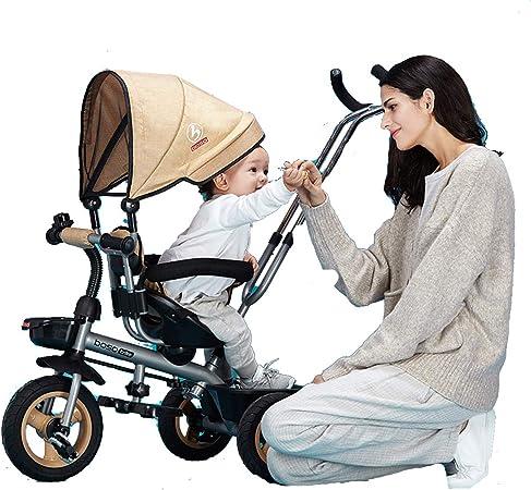 YLET Trike 4 en 1 Poussette détachable canopé