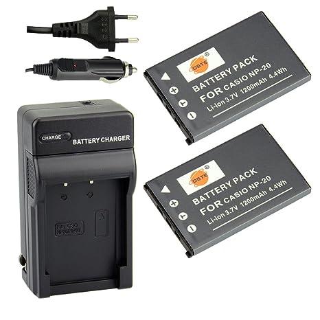 Batteria fotocamera casio np 20 11