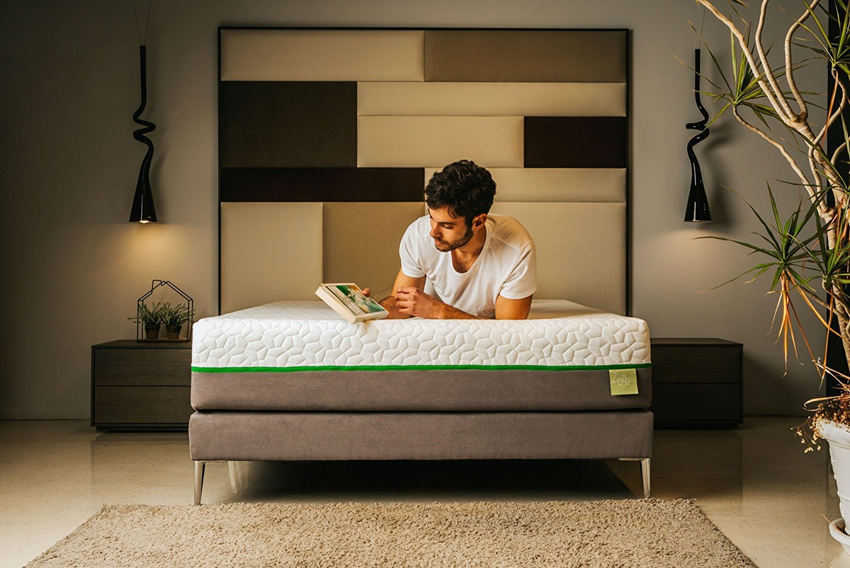 ZenPur® - Colchón Premium Wave® termorreguladora de muelles ensacados & de Espuma de Memoria 100% viscoelástica 50 kg/m3 - Grosor 26 cm, ...