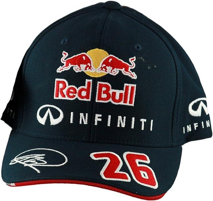 Gorra Red Bull de Daniil Kvyat, 2015: Amazon.es: Ropa y accesorios
