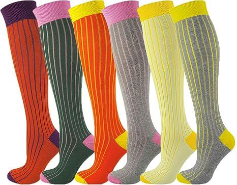 91954cca4 Mysocks Unisex Knee High Socks Ribbed at Amazon Women s Clothing store