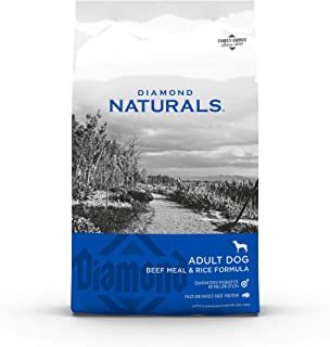 product image for Diamond Naturals Dry Food for Adult Dog, Beef and Rice Formula, 40 Pound Bag (074198608331)