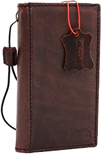 Genuine Leather Case for iPhone 6 Book Wallet Cover S Luxury Cards Slots Retro 6s Slim daviscase