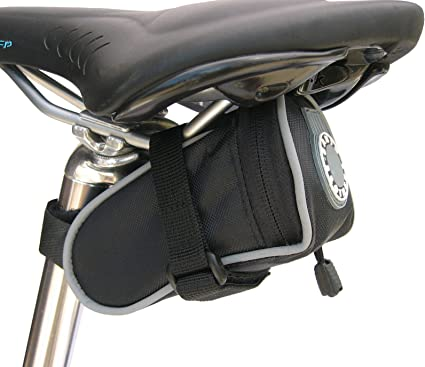 Small Red Banjo Brothers Seat Bag Deluxe