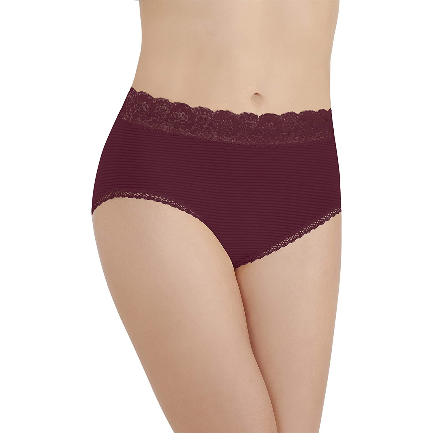 4d2961a5b5e2 Vanity Fair Women's Flattering Lace Brief Panty 13281 at Amazon Women's  Clothing store: