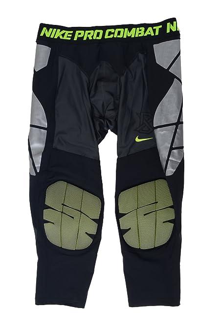e207ef8ff8 Nike Men's Pro Hyperstrong Baseball Slider Tights (XX-Large, Black/Volt)