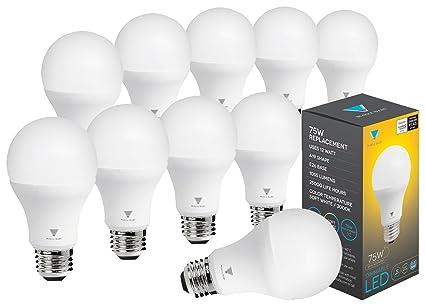 Triangle Bulbs Pack Of 10 12 Watt A19 Led Bulb 75 Watt