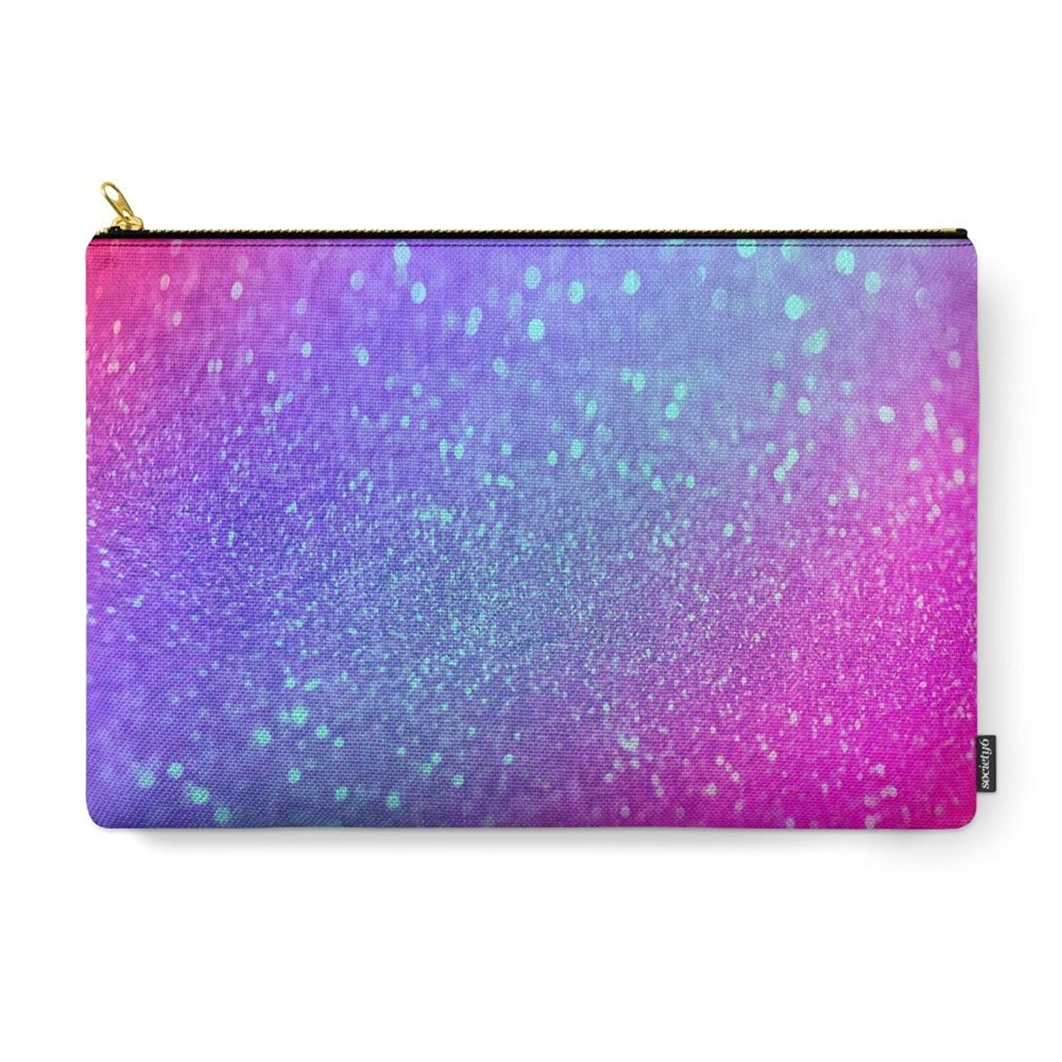 Society6 Glitter Carry-All Pouch