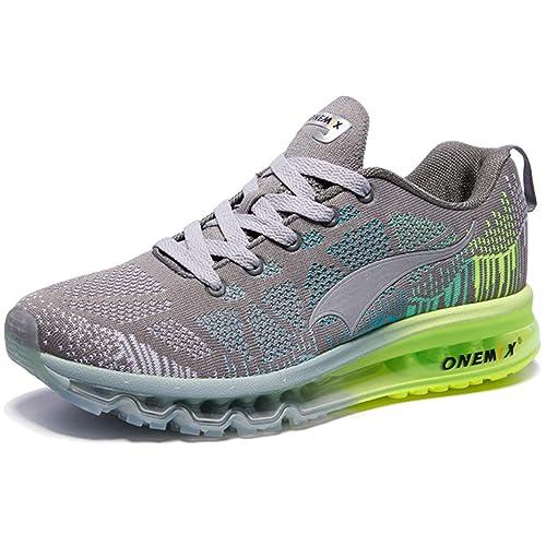 online retailer 45b6c d4b11 ONEMIX Uomo Scarpe da Ginnastica Corsa Sportive Sneakers Air Running Fitness  Respirabile Mesh Casual all