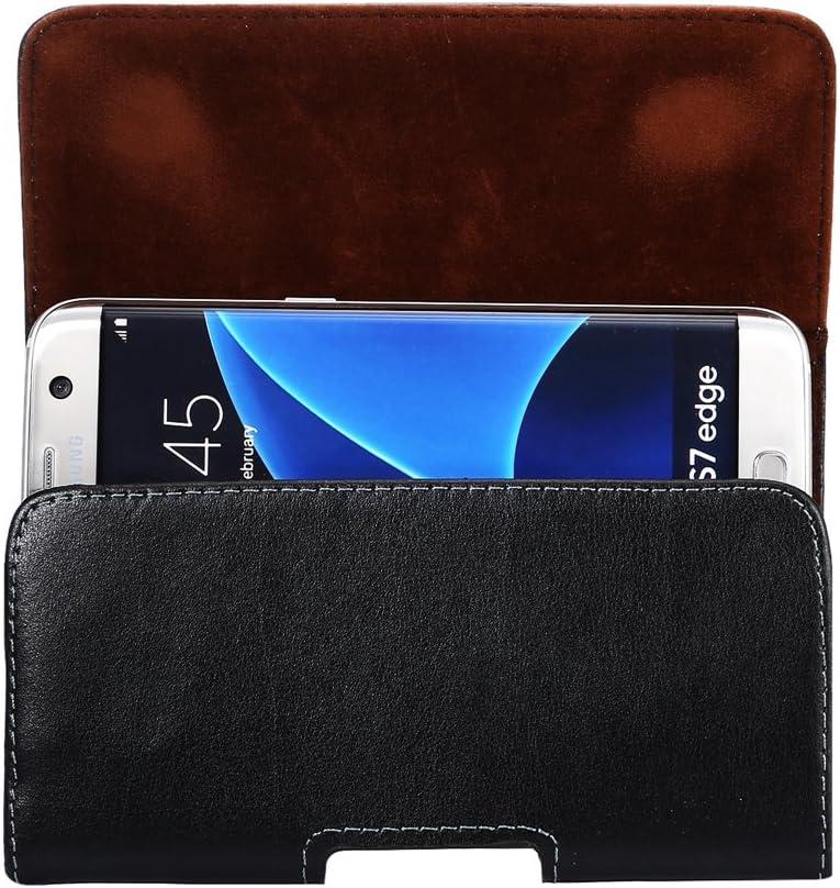 DAYNEW 3.5-4.0 Pouce Ceinture Clip Sacoche Etui Universel,Ceinture Clip Sacoche pour iPhone Samsung Huawei Sony ASUS Zenfone Smartphones-Noir
