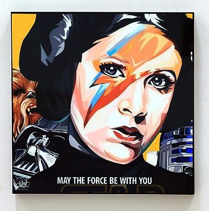 Amazon.com: Princess Leia 2 Star Wars Poster POP Art Print ...