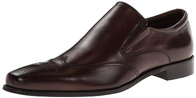 Steve Madden Men's Draftt Slip-On Loafer,Dark Brown,8 ...