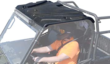Amazon Com Superatv Plastic Roof For Polaris Ranger Full Size 500 570 800 6x6 900 Diesel Verify Model Years Below Not Compatible With Flip Up Or Fold Down Windshields Automotive