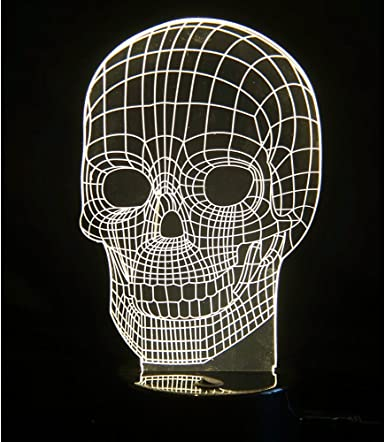 lampe tête de mort 1