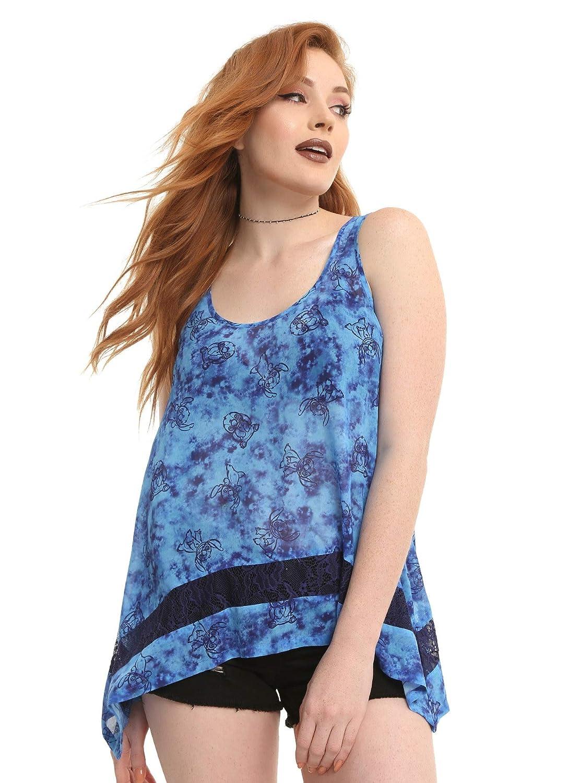 e97d08cb307376 Lilo stitch disney blue tie dye girls chiffon tank top clothing jpg  1111x1500 Lilo and stitch
