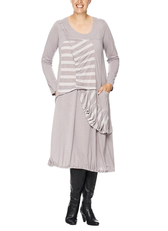 Kekoo Kleid mit Raffung