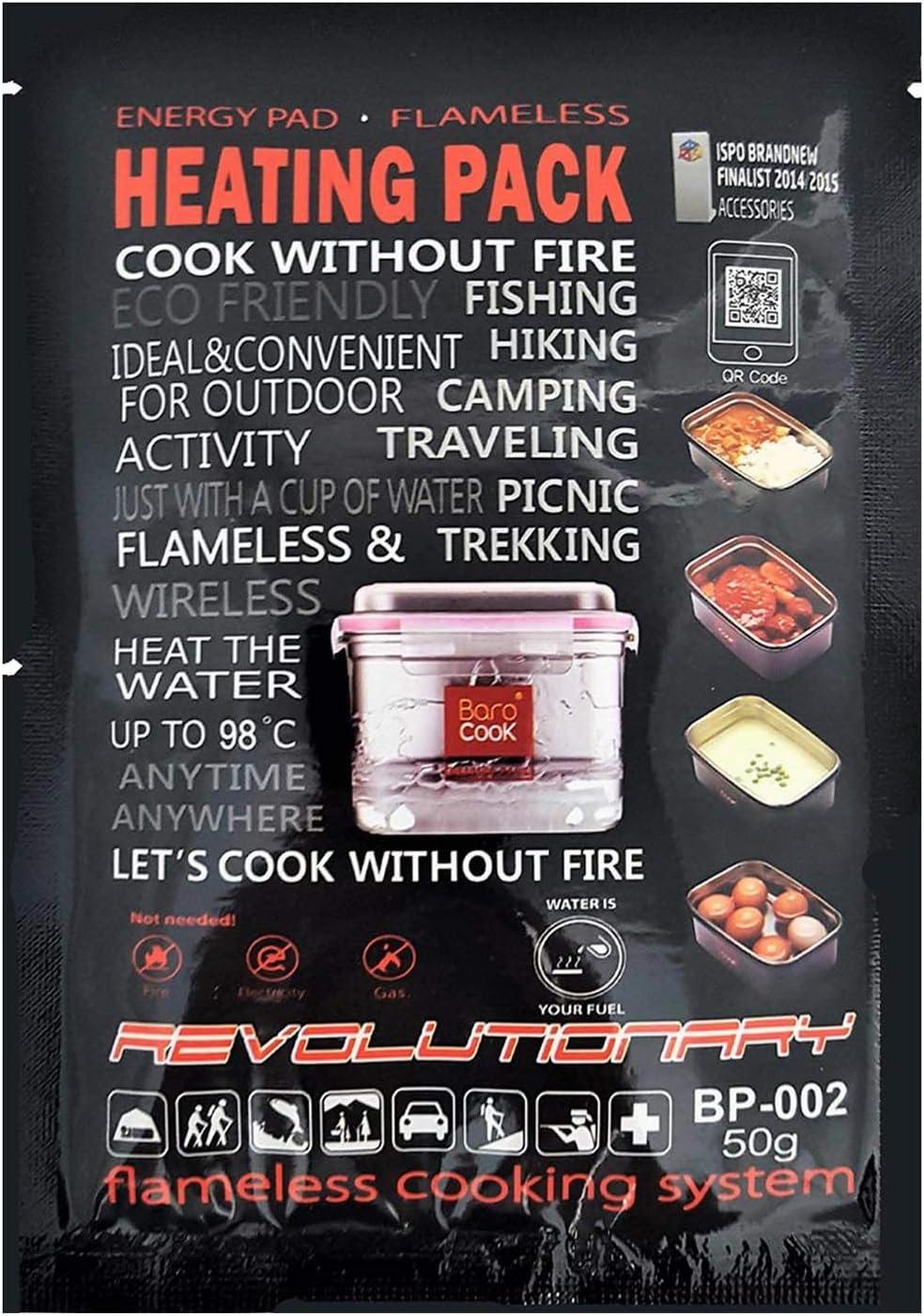 BaroCook Camping Kocher Heating Pack, 50 g, 10er-Set BA-BP ...