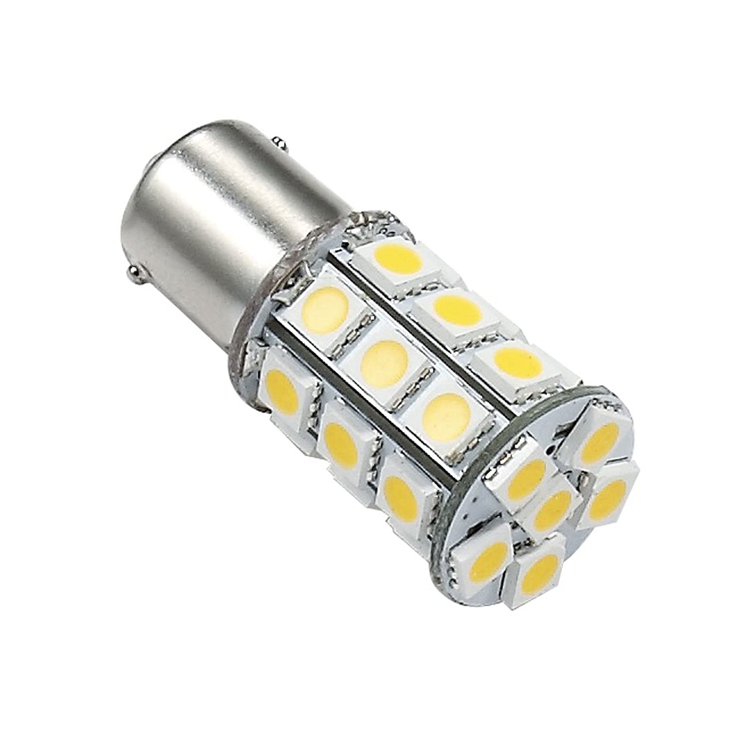 Green Value Led 25001v Warm White 1 Pack Led Replacement Rv Auto Marine Light Bulb Base Tower 1156 1141