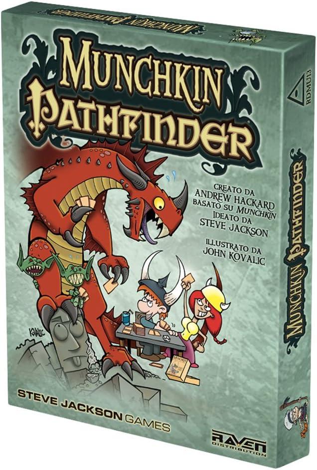 Raven Juego Pathfinder Tarjeta Munchkin - Cuervo: Raven Distribution: Amazon.es: Juguetes y juegos