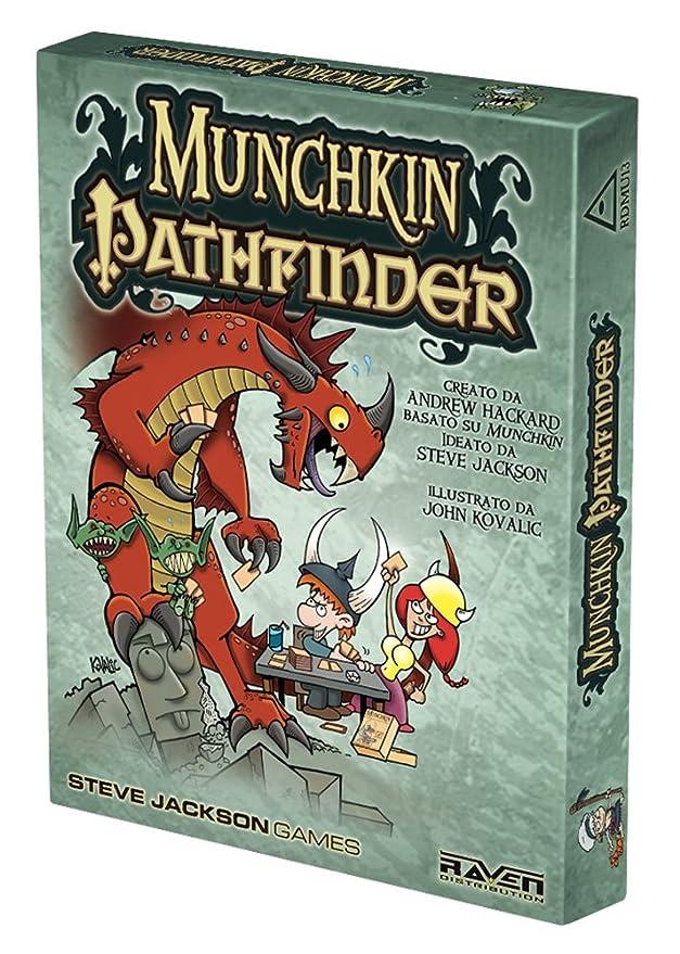 Raven Juego Pathfinder Tarjeta Munchkin - Cuervo: Amazon.es ...