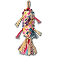 Planet Pleasures Spiked Pinata Small 10-Inch Natural Bird Toy