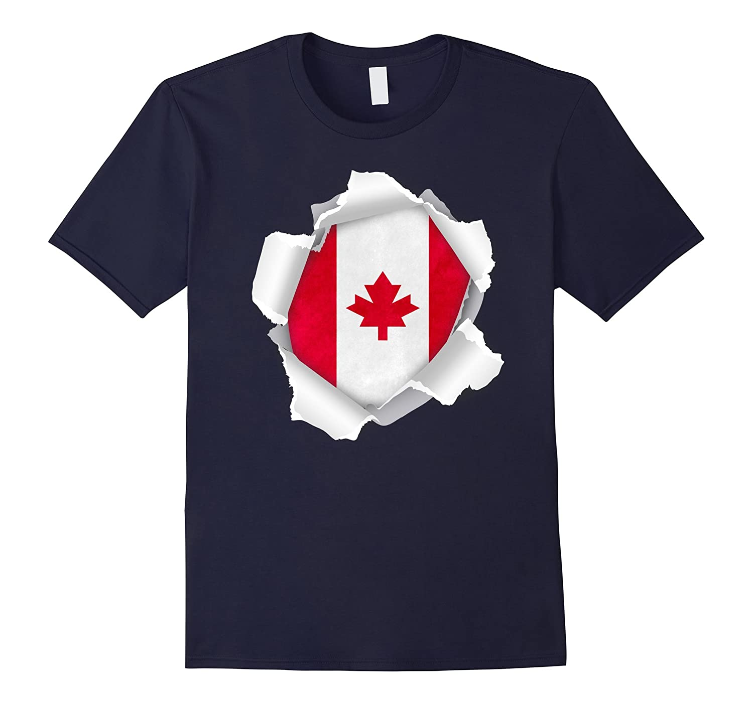 Canada Flag - Canadian Gift T-Shirt-CL