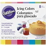 Wilton Set of 8 Icing Colors, Cake Decorating Supplies