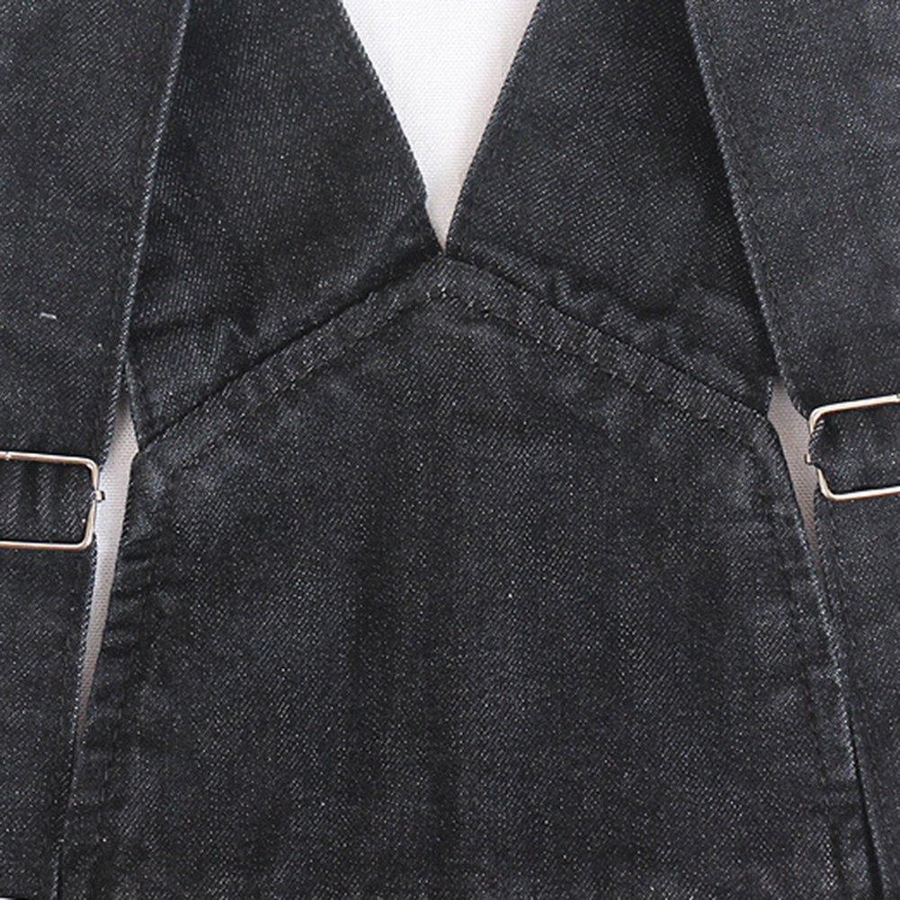 Donna Salopette Jeans Pantaloncini Sciolto Taglie Forti Colore Solido Casual Corte Jean