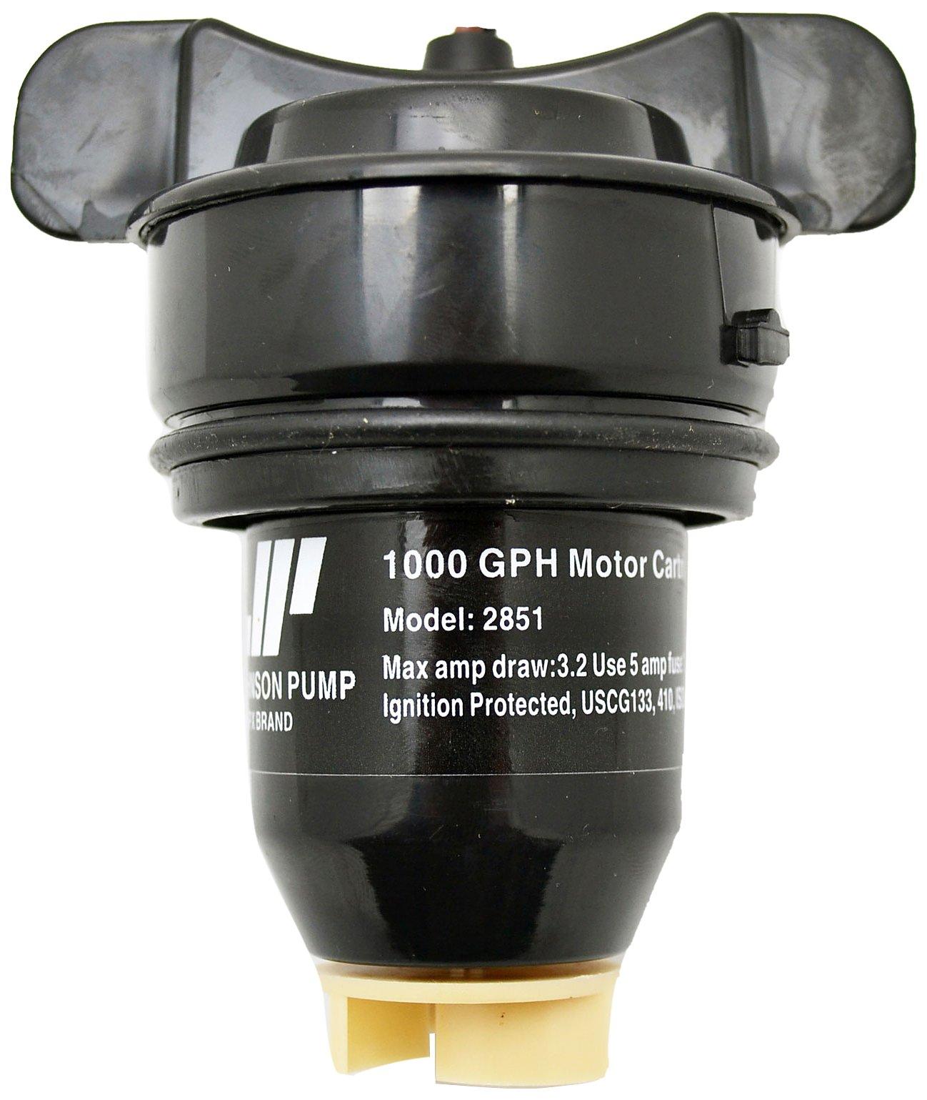 Johnson Pump of America 28512 Marine Pump Cartridge for 1000 GPH Motor by Johnson Pump