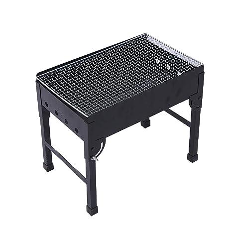 OLOroast Parrilla del BBQ del carbón de leña plegable ...