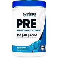Nutricost Pre-Workout Complex Powder Blue Raspberry (30 Serv)